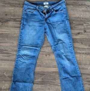 Slender boot leg Levi's Blue jeans